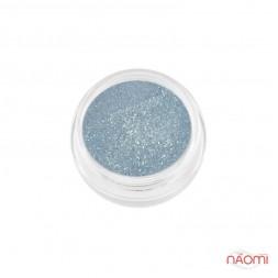 Акриловая пудра My Nail № 076, цвет бирюзово-голубой с микроблеском, 2 г