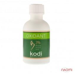 Окислювач рідкий 3% Kodi professional для фарби для брів і вій, 50 мл