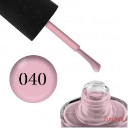 Лак NUB 040 Frosty Morning мягкий розовый, 14 мл