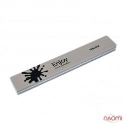 Шлифовщик для ногтей Enjoy Professional 180/220 Buff, серый