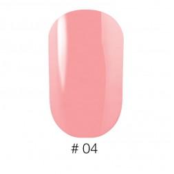 Лак Naomi VINYTONE 04 розовый с персиковыми нотками, 12 мл