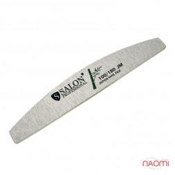 Пилка для ногтей Salon Professional 100/180 Japan Nail File, полукруг