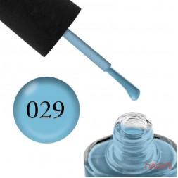 Лак NUB 029 Aquatic Blue голубой, 14 мл