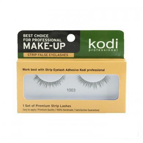 Ресницы накладные Kodi Professional № 1003, на ленте, черные, фото 1, 70.00 грн.
