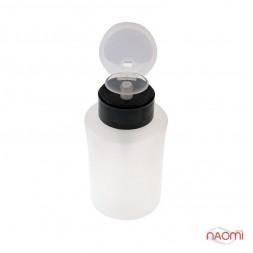 Пластиковая емкость для жидкостей с дозатором, 150 мл