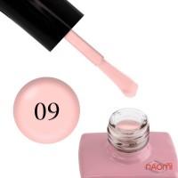 Гель-лак однофазный Master Professional 09 телесно-розовая пудра эмалевый, 10 мл