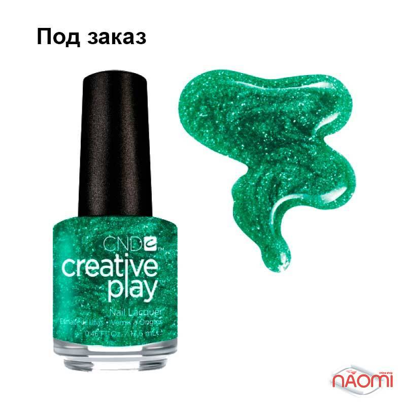 Лак CND Creative Play 478 Shamrock On You, зеленый, 13,6 мл, фото 1, 129.00 грн.