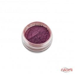 Дзеркальна пудра для втирання Naomi 07, колір рожевий, 1 г