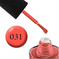 Лак NUB 031 Obvious Orange яркий лососевый, 14 мл