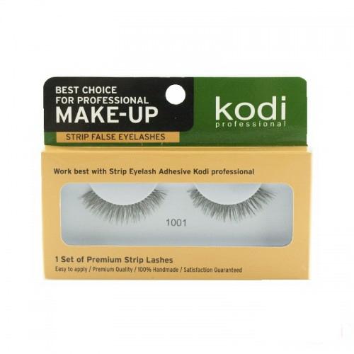 Вії накладні Kodi Professional № 1001, на стрічці, чорні, фото 1, 70.00 грн.