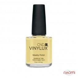 Лак CND Vinylux Weekly Polish 165 Sun Bleachtd светло-желтый, 15 мл