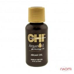 Восстанавливающее масло  CHI Argan Oil plus Moringa Oil, 15 мл