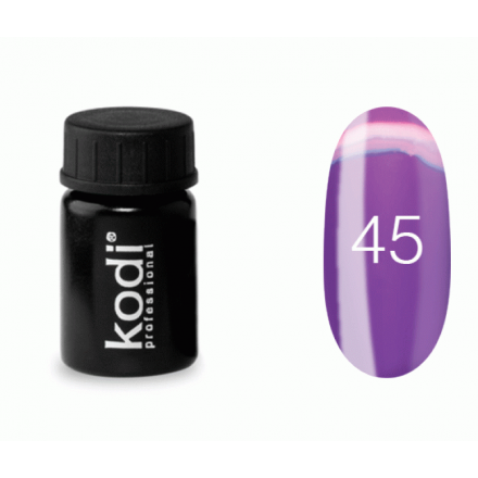 Гель-краска Kodi Professional 45 фиолетово-розовый, 4 мл, фото 1, 57.00 грн.