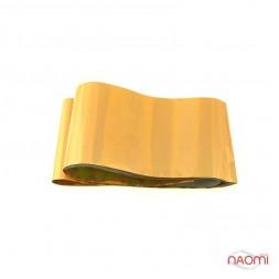Фольга для ногтей переводная, для литья, gold глянцевая  L= 1 м, ширина 4 см