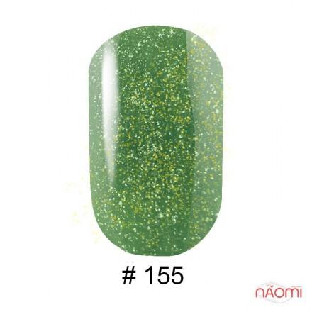 Гель-лак G.La color 155 зеленый с переливающимися шиммерами, 10 мл, фото 1, 80.00 грн.
