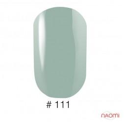 Лак Naomi 111 свежая мята, 12 мл