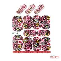 Слайдер-дизайн N 260 Цветы