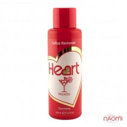 Щелочной пилинг для педикюра Heart Callus&Cuticle Remover Мохито, 100 мл