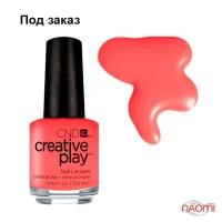 Лак CND Creative Play 405 Jammin Salmon, рожево-оранжевий, 13,6 мл