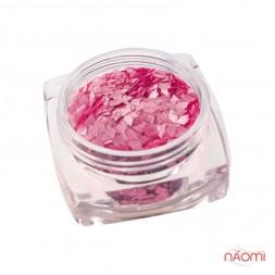 Декор для нігтів Salon Professional Ромбики, колір рожевий