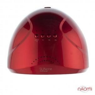УФ LED лампа светодиодная Sun One 48 Вт и 24 Вт, таймер 5, 30 и 60 сек, цвет красный