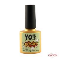 Топ для пигментов ELEMENTS, YO!Nails BOOM Top Сoat, 8 мл
