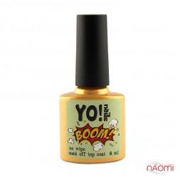 Топ для пігментів Yo Nails BOOM Top Сoat, 8 мл