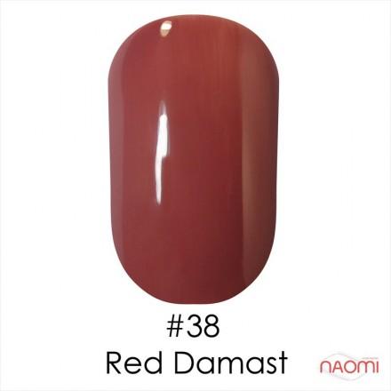 Гель-лак Naomi 038  Red Damast  светлый коричнево-розовый , 6 мл, фото 1, 55.00 грн.