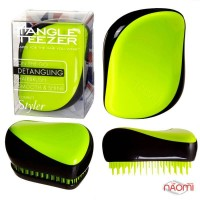 Расческа Tangle Teezer Compact Styler Neon Yellow, цвет желтый неон