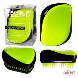 Гребінець Tangle Teezer Compact Styler Neon Yellow, колір жовтий неон