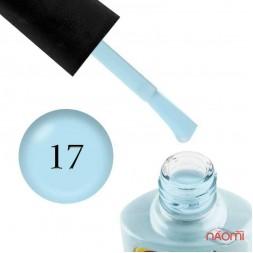 Гель-лак Yo nails Sweety № 17, 8 мл, цвет пастельный голубой, плотный, эмалевый