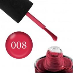 Лак NUB 008 Caribbean ягодный светлый, 14 мл