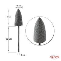 Полировщик силиконовый для искусственных ногтей Н 332m Серая пуля средняя