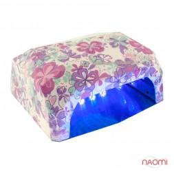 УФ LED+CCFL лампа для гель-лаков и геля 36W, с таймером 10, 20 и 30 сек., романтический сад