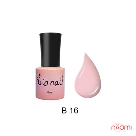 Гель лак BioNail B 016 мягкий розовый, 8 мл, фото 1, 194.00 грн.