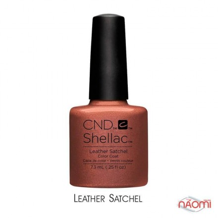 CND Shellac Craft Culture Leather Satchel терракотовый, 7,3 мл, фото 1, 339.00 грн.