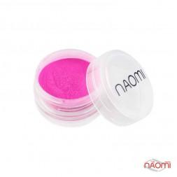 Акриловая пудра Naomi № 007, цвет ярко-розовый, 3 г