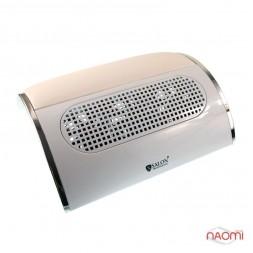 Вытяжка для маникюра Salon Professional 947, с тремя вентиляторами, цвет белый 34*28,5*10 см