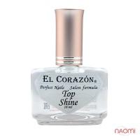 Топ для лака El Corazon Top Shine №410 Кристальный блеск, 16 мл