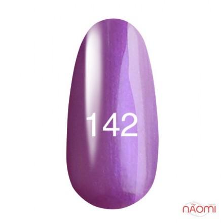 Гель-лак Kodi Professional 142 фиолетовый с перламутром, 8 мл, фото 1, 135.00 грн.
