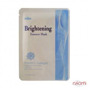 Маска-салфетка для лица отбеливающая Konad NijuBrightening Essence Mask, 17 мл