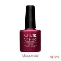 CND Shellac Masquerade темный фиолетово-бордовый с перламутром, 7,3 мл