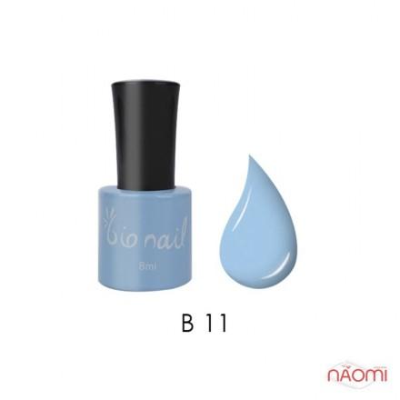 Гель лак BioNail B 011 Pastel Blue пастельный голубой, эмалевый, 8 мл, фото 1, 194.00 грн.