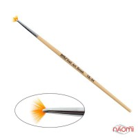 Кисть для градиента, омбре YRE Nail Art Brush VK 04, веерная, искусственный ворс