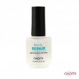 Засіб для відновлення нігтів Naomi Nail Repair, 15 мл