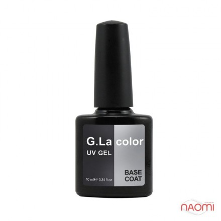 База для гель-лака G.La color UV Gel Base Coat 10 мл, фото 1, 80.00 грн.