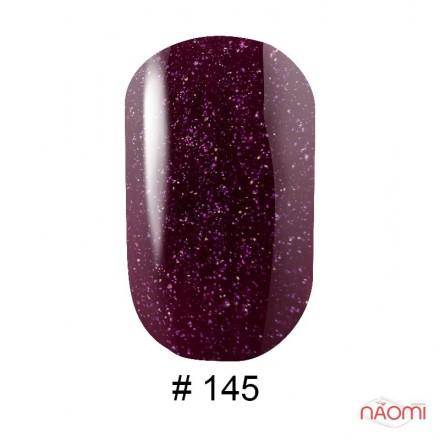 Гель-лак G.La color 145 бордово-фиолетовый с розовыми шиммерами, 10 мл, фото 1, 80.00 грн.
