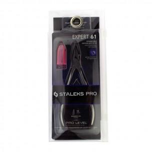 Кусачки Staleks PRO Expert 61, профессиональные для вросшего ногтя, режущая часть 12 мм