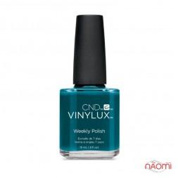 Лак CND Vinylux Rhythm & Heat 247 Splash of Teal цвет морской волны, 15 мл