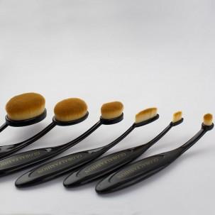 Набор кистей для макияжа Зубная щетка Global Fashion